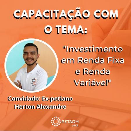 Capacitação Investimento