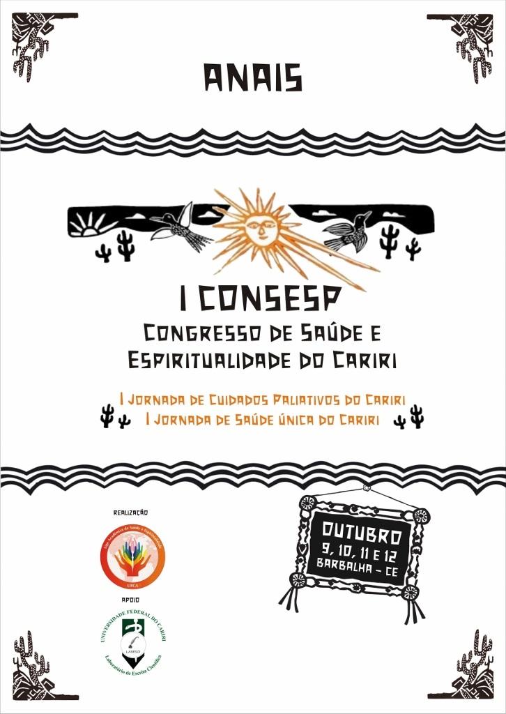 Anais do I Congresso de Saúde e Espiritualidade do Cariri – CONSESP thumbnail