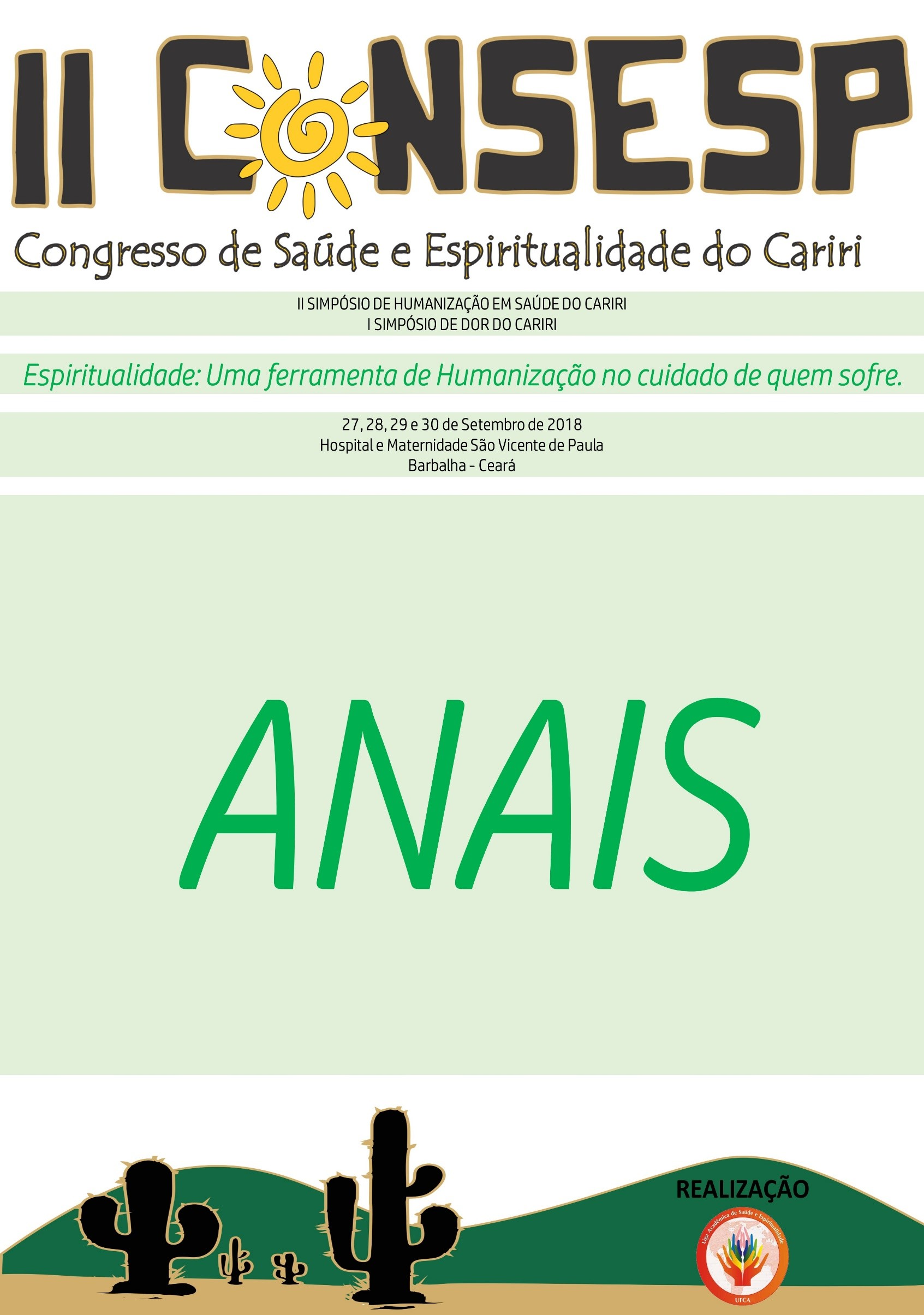 II CONGRESSO DE SAÚDE E ESPIRITUALIDADE DO CARIRI thumbnail