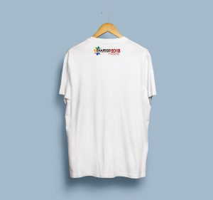 T-Shirt Mock-Up Back