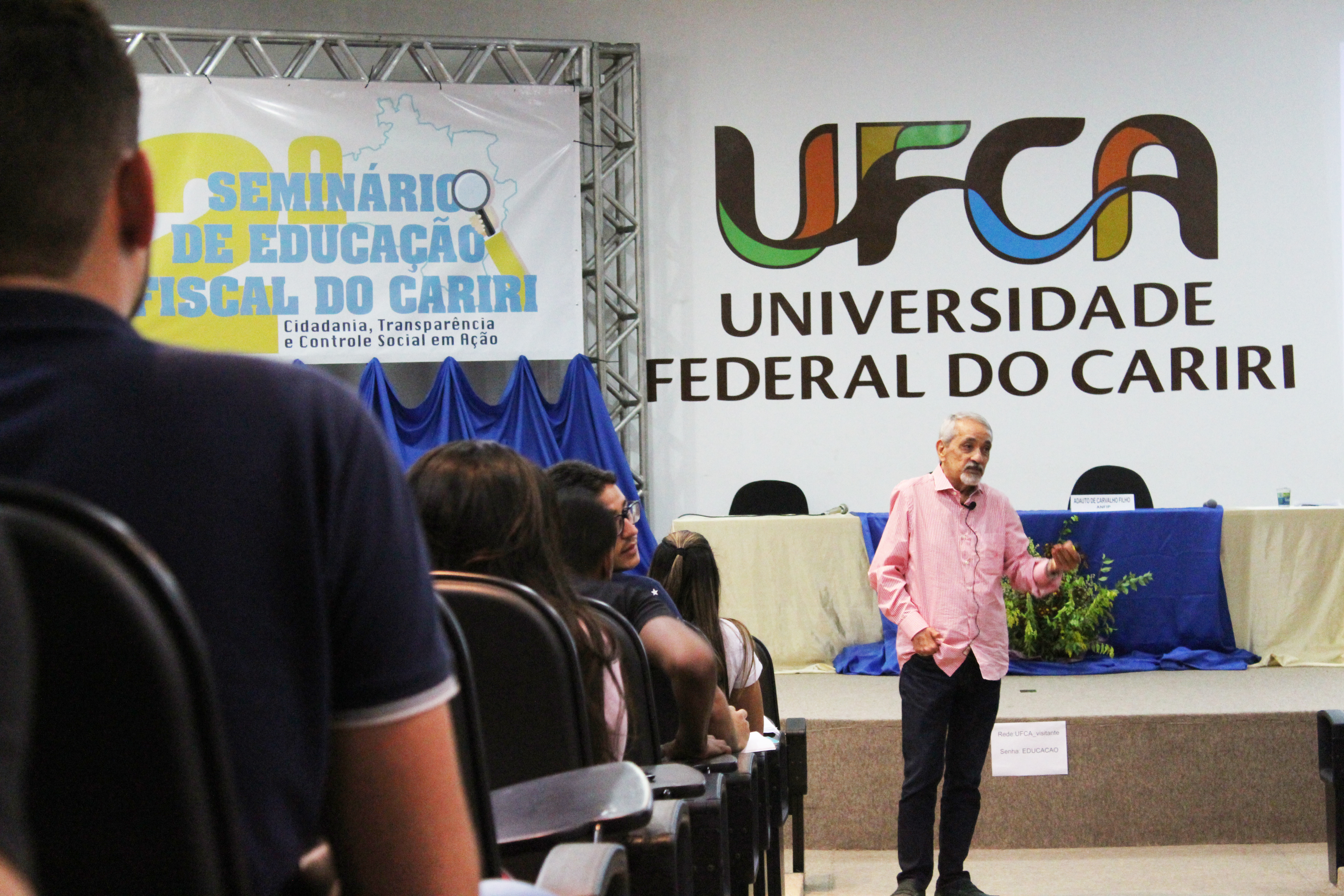 Seminário de educação fiscal do Cariri