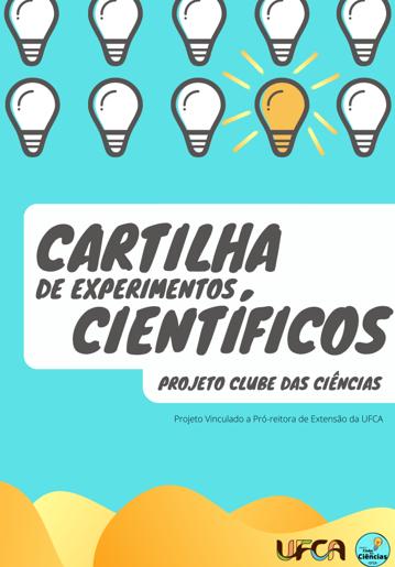 CARTILHA DE EXPERIMENTOS CIENTÍFICOS – PROJETO CLUBE DAS CIÊNCIAS thumbnail